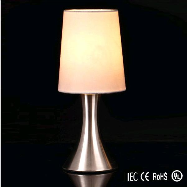 Moderne rvs mini touch lamp decoratieve tafellamp voor