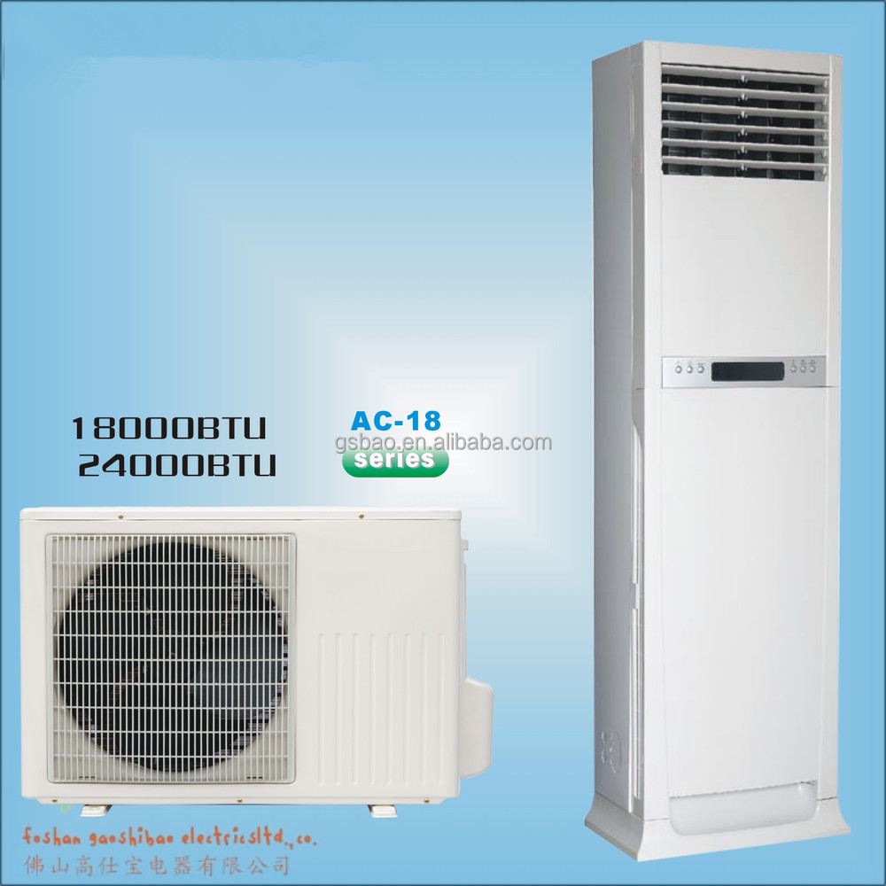 Floor Stand Air Conditioner 18000btu 24000btu 30000btu To
