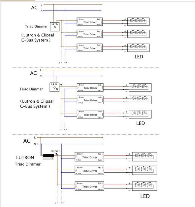 Intertek Led Drivers Model 12v 48w Led Driver 12v 4a Triac