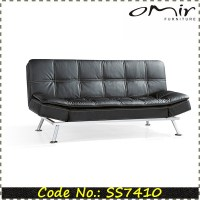 Mini Sofa Bed Mini Lounger Convertible Sofa Bed Black By ...