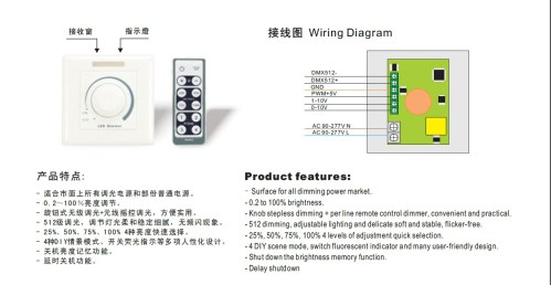 small resolution of dmx 512 led dimmer pwm dimmer