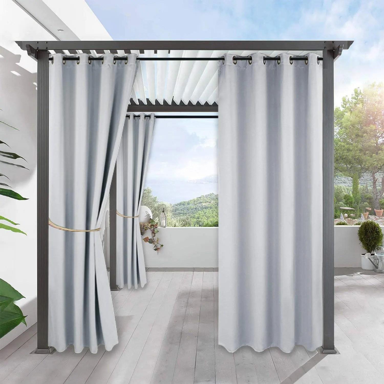 rideaux de patio de maison personnalises rideau d exterieur occultant de haute qualite buy rideau exterieur rideau exterieur sur mesure rideau