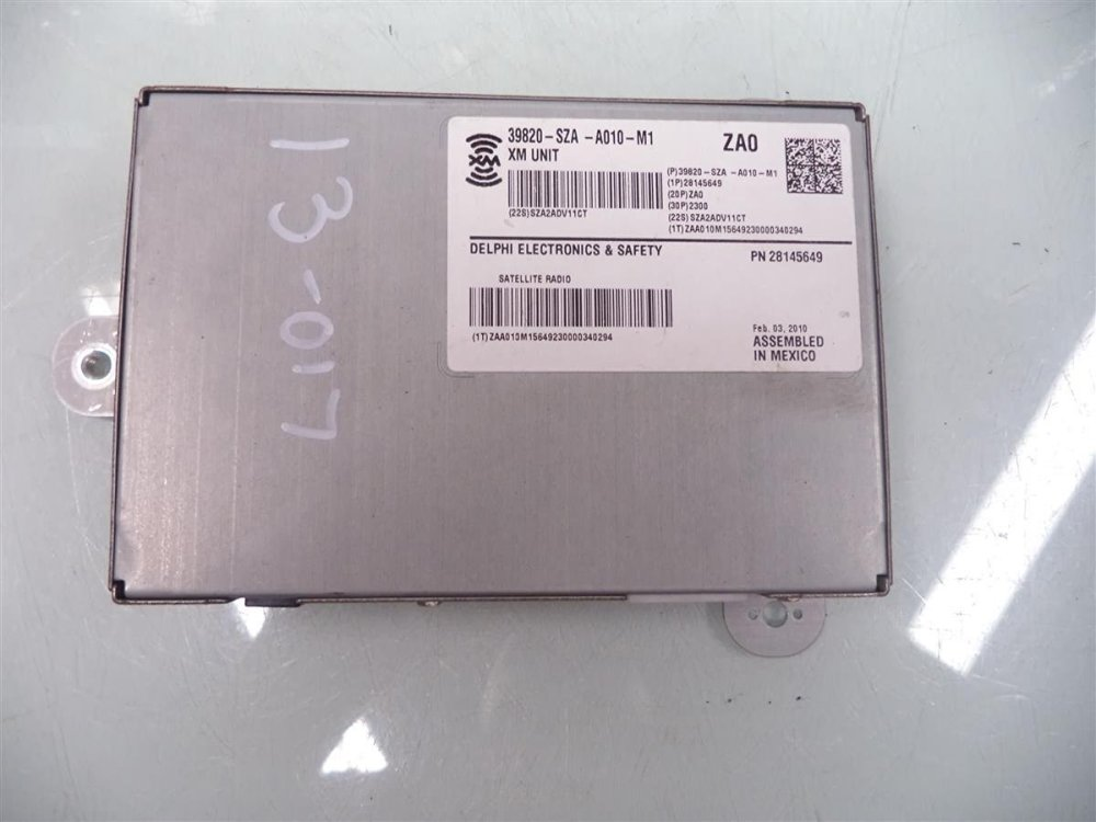 medium resolution of get quotations 2009 2010 2011 honda pilot xm satellite control module computer 39820 sza a01