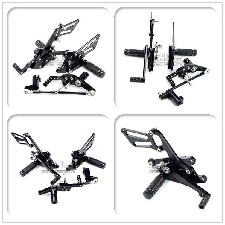 Ars-cbr1000-08 High Quality Adjustable Rearset Foot Pegs