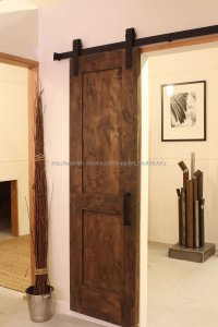American Style Sliding Steel Barn Door Hardware - Buy ...