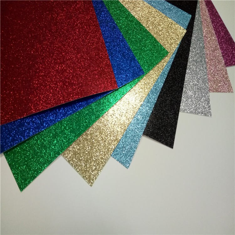 Black Glitter Wallpaper Bedroom Cardstock Card Color High Quality Card Stock Paper Glitter