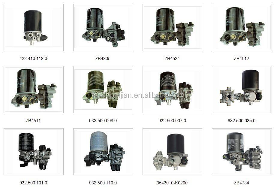 Wabco Haldex Knorr Air Brake Valves/air Brake Chamber/air
