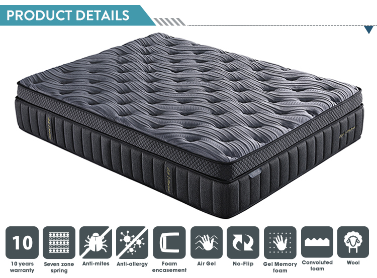 pillow top vacuum pack single twin double queen king full size bed gel memory foam mattress sponge topper buy mattress sponge foam mattress