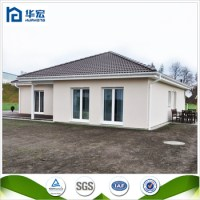 Pre-made Flexible Layout Modern 100m2 Prefabricated House ...