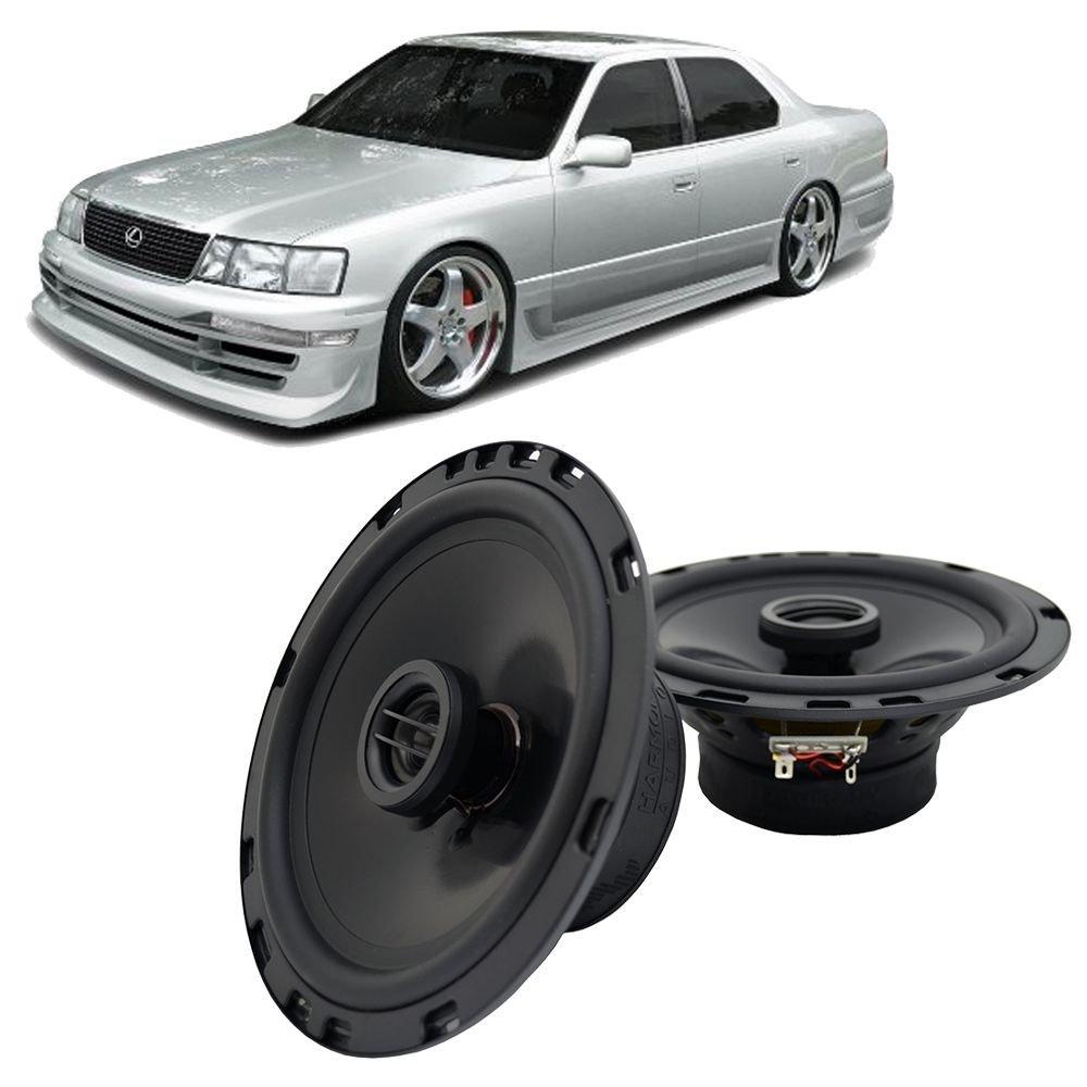 hight resolution of get quotations fits lexus ls400 1990 1992 front door factory replacement harmony ha r65 speakers new