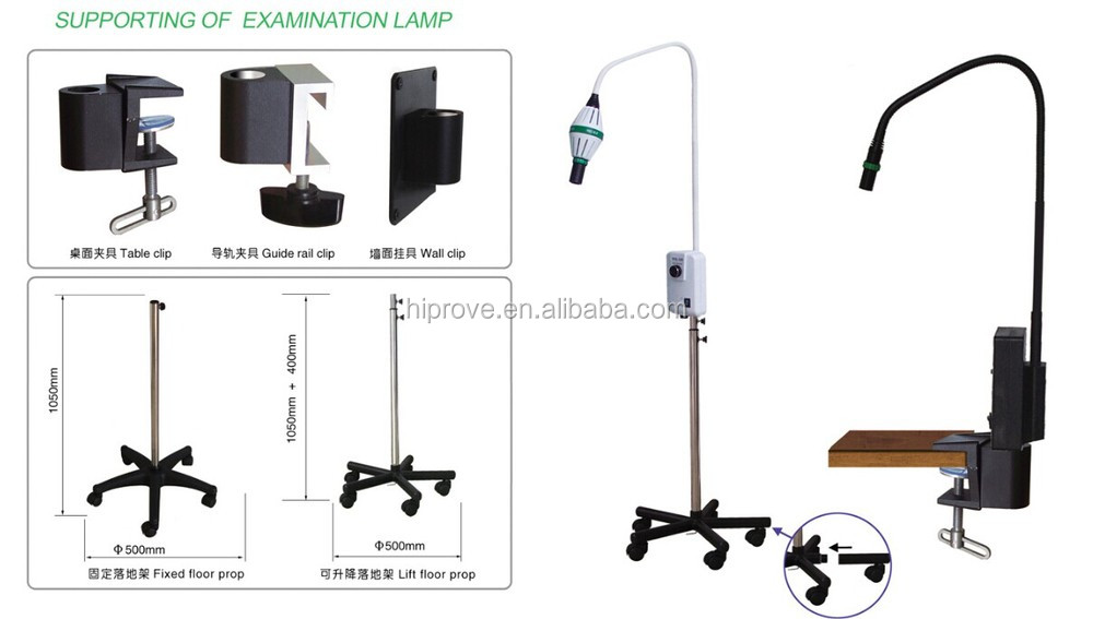 Price For New Led Mobile Surgical Medical Exam Light Floor