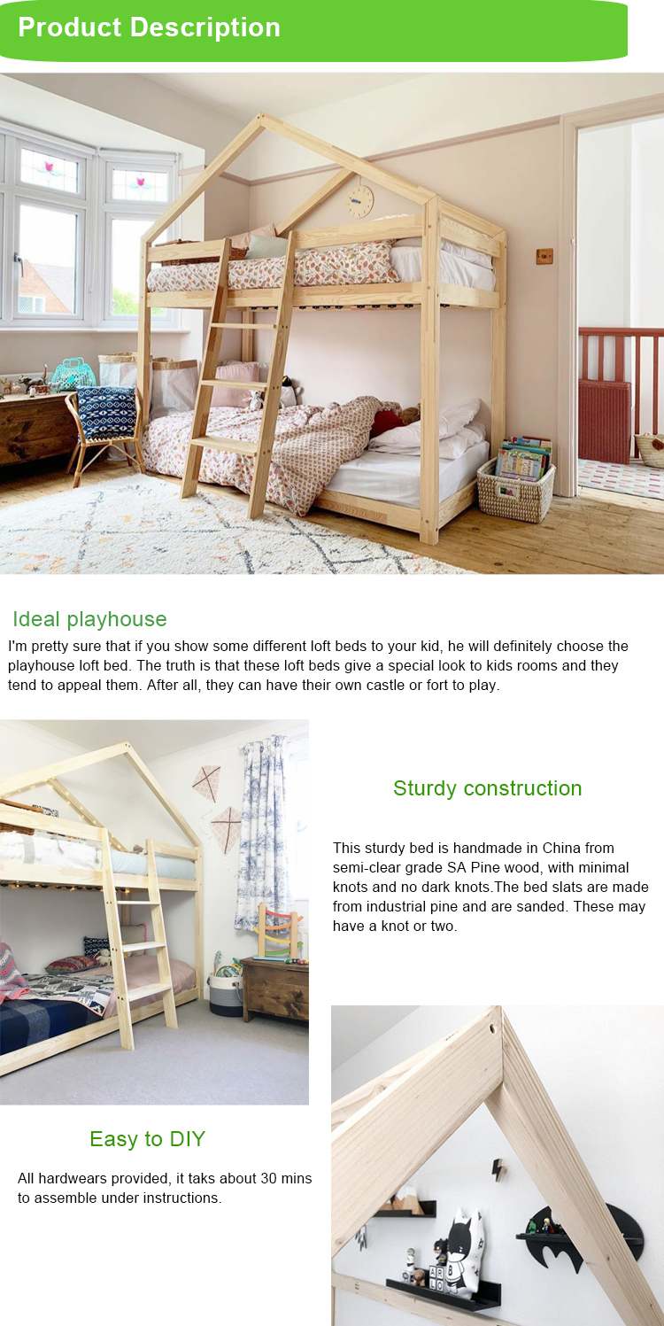 New Design Tree House Shape Sturdy Pine Wood Cheap Prices Playhouse Bunk Bed On Sale Buy Bunk Bed Prices Bunk Bed On Sale Bunk Bed Playhouse Product On Alibaba Com