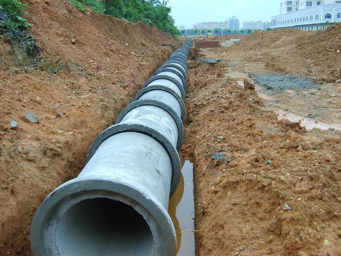 Reinforced Cement Sewage Drain Pipe Machinery/water
