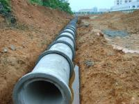 Reinforced Cement Sewage Drain Pipe Machinery/water ...
