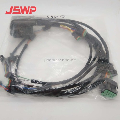 small resolution of engine wiring harness 235 8202 for caterpillar cat 330d with c9 engine
