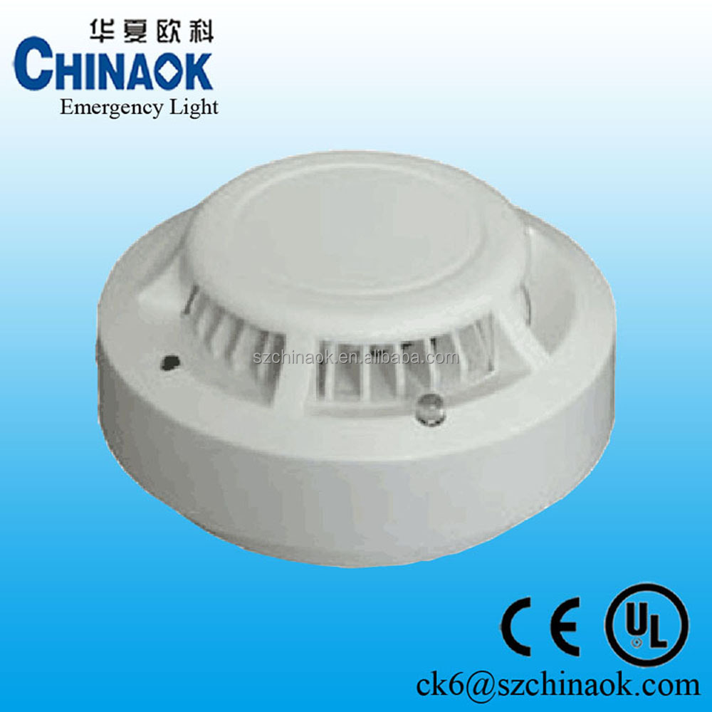 hight resolution of addressable smoke detector with battery inside