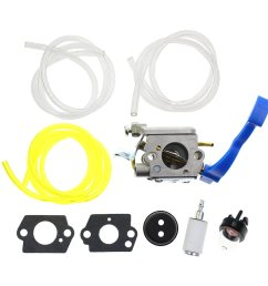 get quotations carbhub carburetor for husqvarna 125b 125bvx 125bx leaf blower trimmer replaces zama c1q w37 carb [ 1130 x 1131 Pixel ]