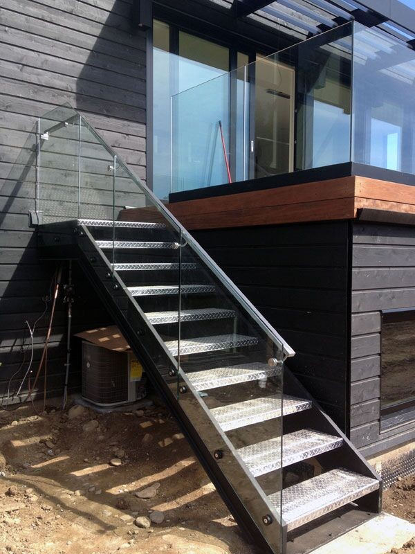 Iron Straight Used Metal Deck Stairs Straight Stair Treads