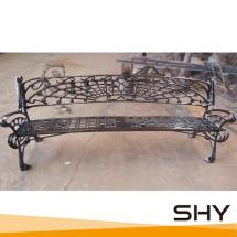 China Factory Cast Iron Bench Outdoor Unique