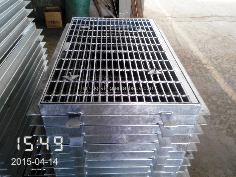 drain coveroutdoor drain coverISO9001Steel Material galvanized australian standard trench
