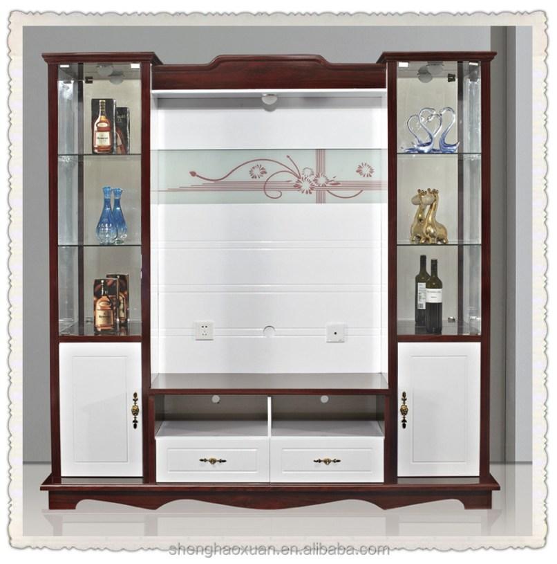 Lcd Tv Cabinet Design Living Room Corner Showcase Livingroom