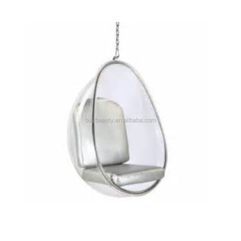 hanging chair clear professional office chairs acrylic egg pod buy