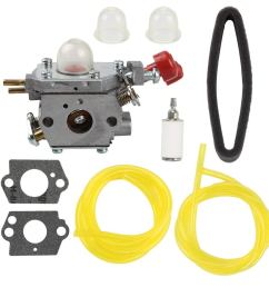 get quotations harbot tb35ec 753 06288 carburetor with air filter tune up kit for troy bilt tb2040xp [ 1000 x 1000 Pixel ]