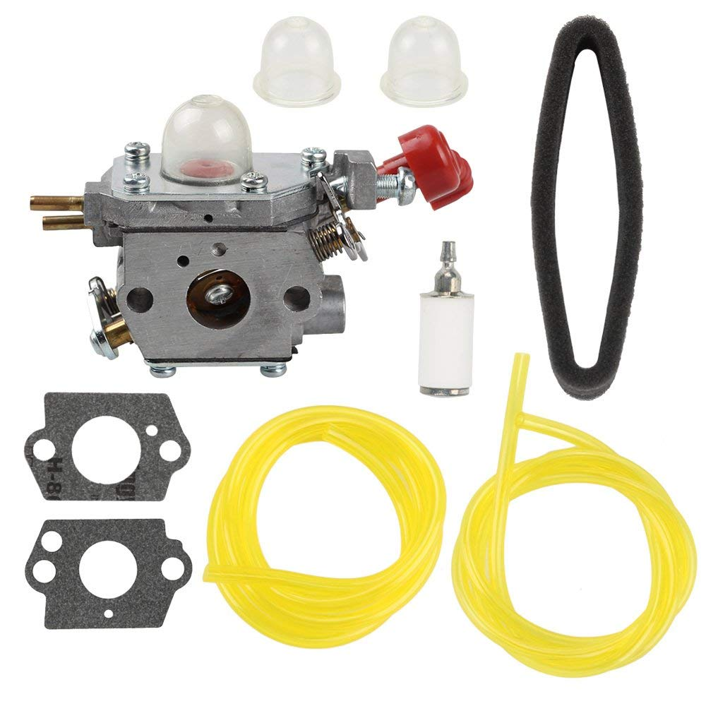 medium resolution of get quotations harbot tb35ec 753 06288 carburetor with air filter tune up kit for troy bilt tb2040xp