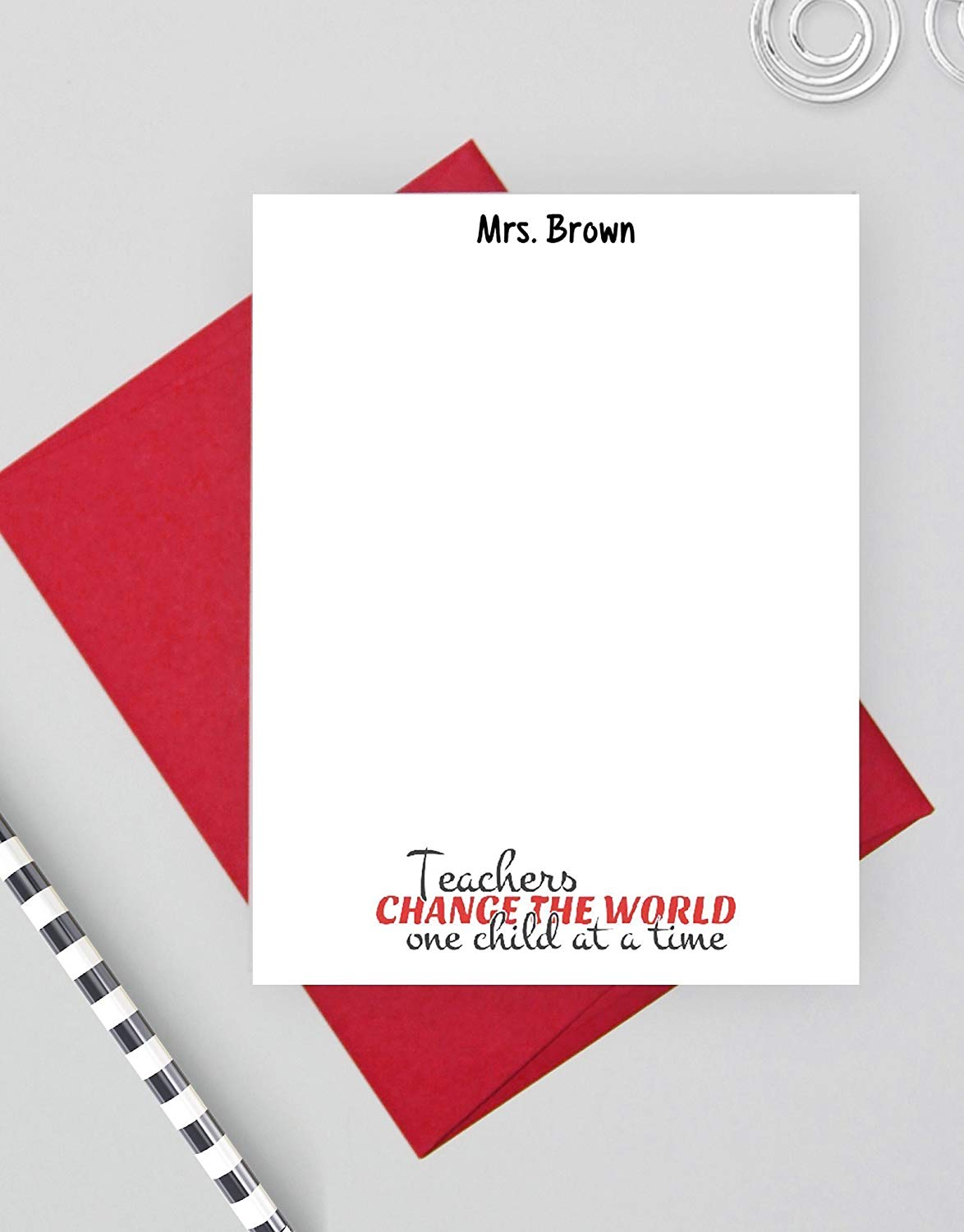 cheap flat stationery cards
