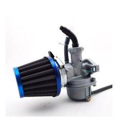 tc motor 22mm carburetor pz22 carb 38mm air filter for 110cc 125cc engine chinese atv [ 1001 x 1001 Pixel ]