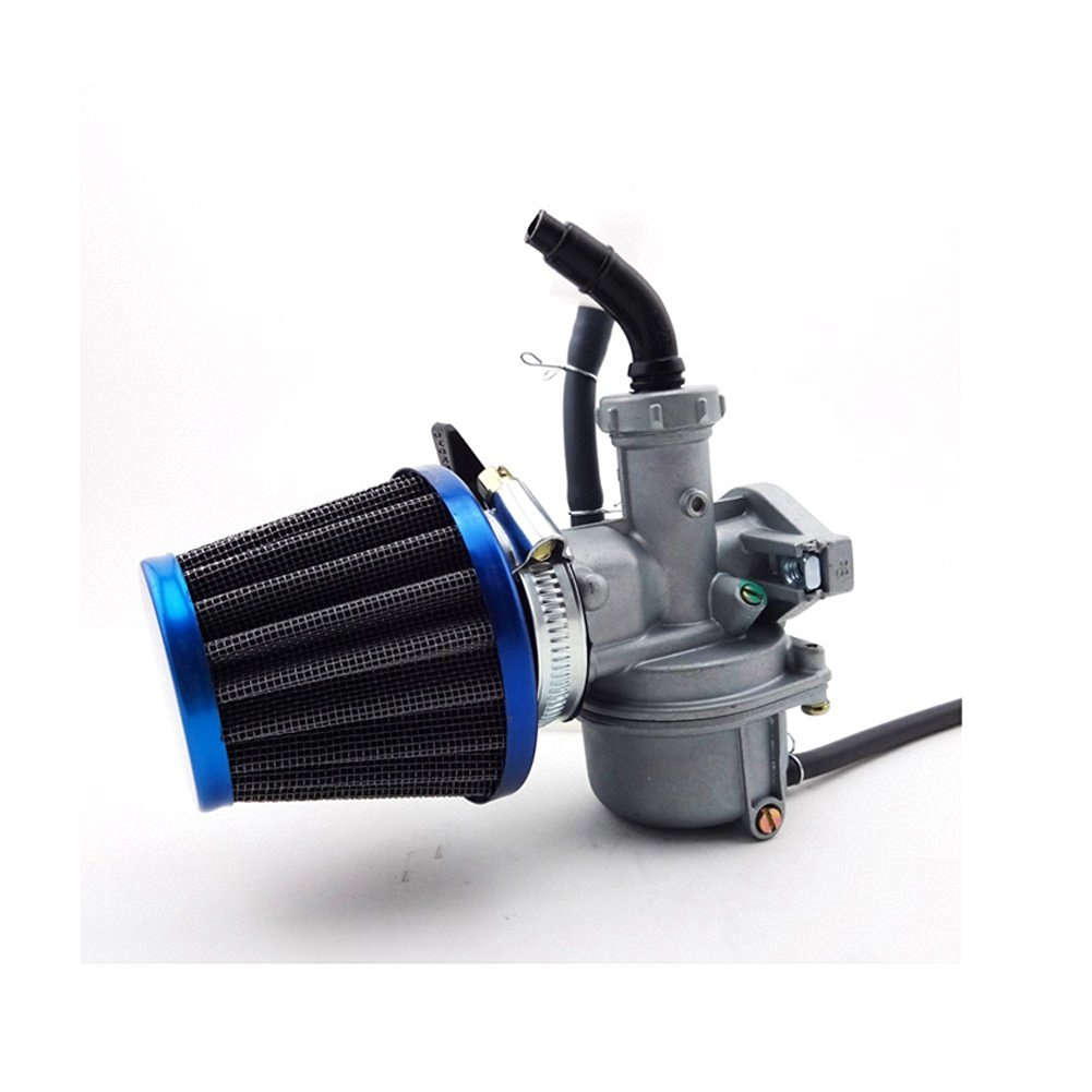 hight resolution of tc motor 22mm carburetor pz22 carb 38mm air filter for 110cc 125cc engine chinese atv