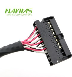 30pin hirose df13 shielded twisted pair lvds cable wiring harness [ 1000 x 1000 Pixel ]