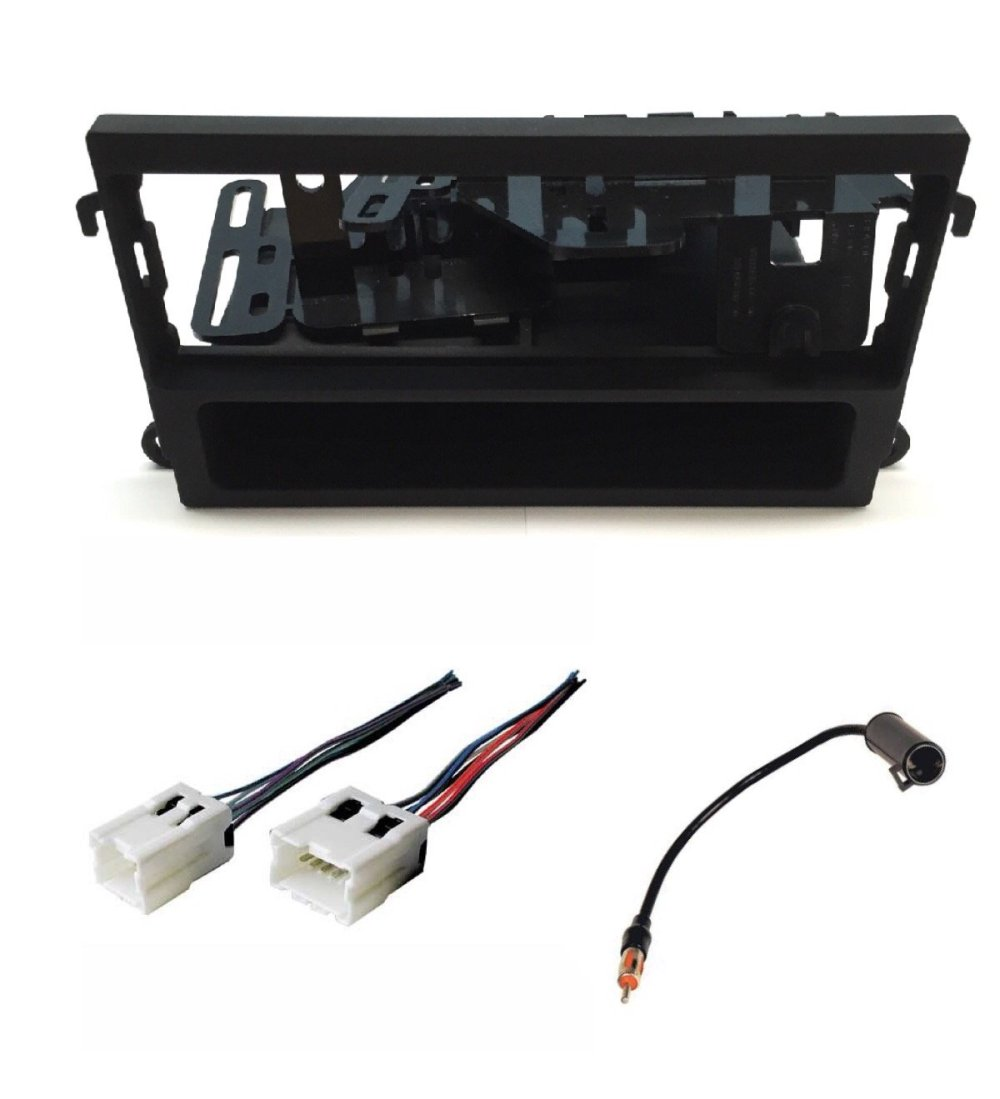 medium resolution of asc audio car stereo dash kit wire harness and antenna adapter for installing a single din radio for nissan 1998 2002 pathfinder 2000 2004 xterra