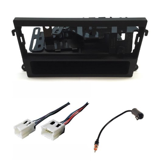 small resolution of asc audio car stereo dash kit wire harness and antenna adapter for installing a single din radio for nissan 1998 2002 pathfinder 2000 2004 xterra