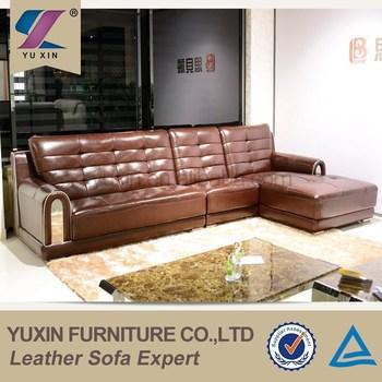 modern brown leather sofa beds full size modular genuine set big design