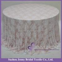 Tl002w4 Wedding Decoration Elegant White Lace Table ...