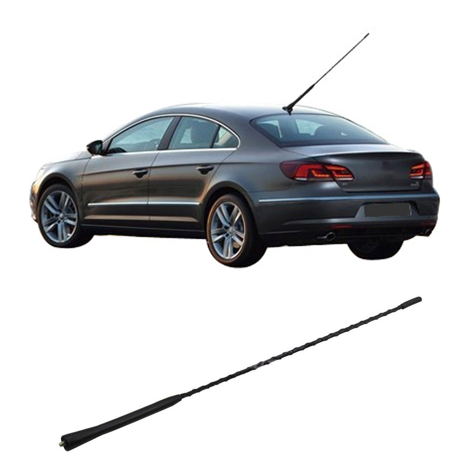hight resolution of get quotations 16 antenna aerial radio replacement roof mast whip for vw jetta golf gti passat