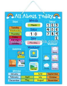 hot brand new for kids baby and child calendar weather creative magnetic learning educational also rh alibaba