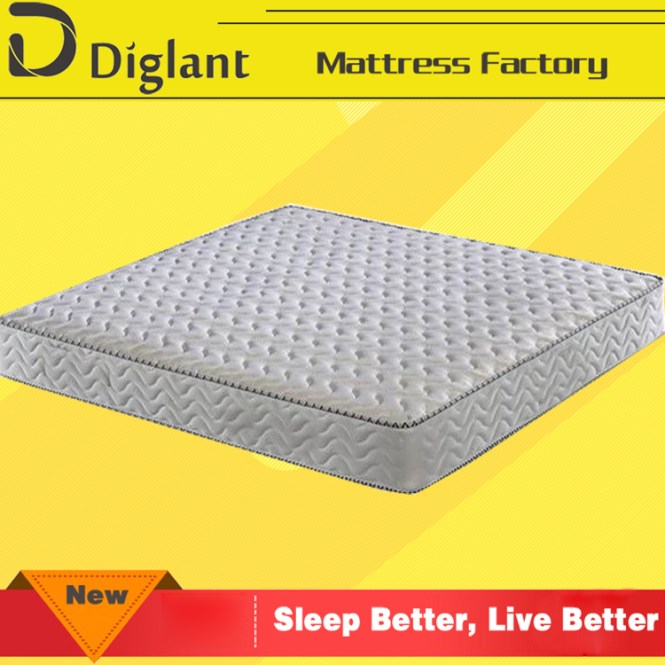 King Single Mattress Latex Pillow Top Inner Spring Only