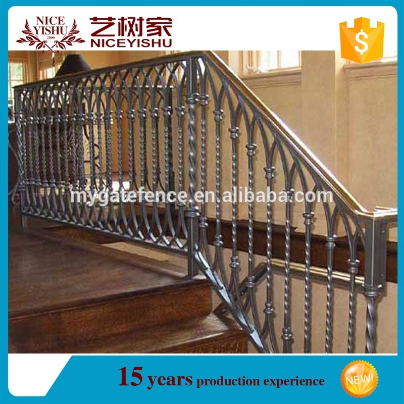 New Design Stainless Steel Staircases Handrails Stairs Grill | New Handrail For Stairs | Replacement | Split Level Foyer | Enclosed Staircase | Inside | Split Entry