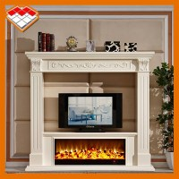 Decorative Electric Fireplace Wood Fireplace Tv Stand ...