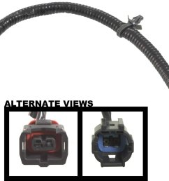 get quotations apdty 112801 replacement knock sensor wiring harness connector fits select infiniti nissan vehicles replaces [ 2001 x 1188 Pixel ]