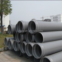 Iso4422-1996 Standard Full Form Pvc Pipe For Water Supply ...