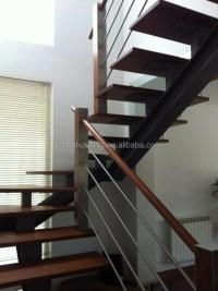 Modern Straight Steel Stairs Metal Staircase - Buy Metal ...