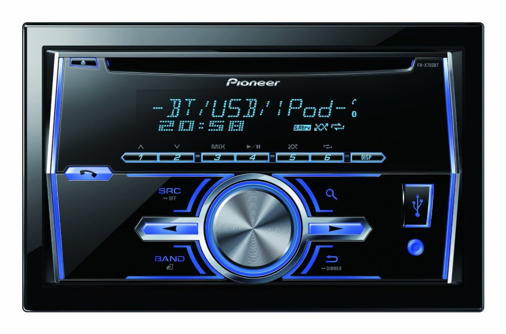 medium resolution of get quotations pioneer fh s700bs double din in dash cd am fm built