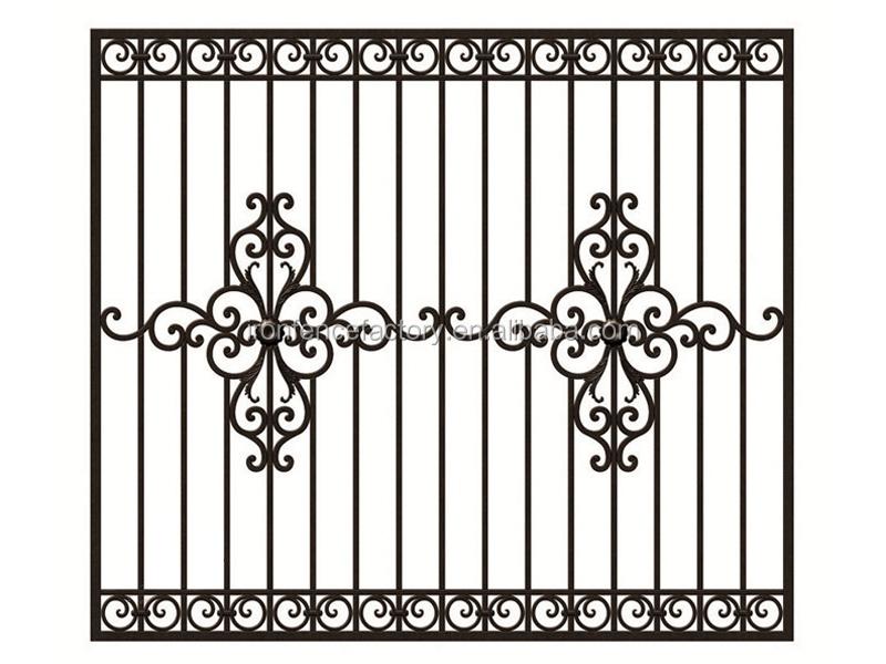 2016 Latest Wrought Iron Steel Windows Designs/cast Steel