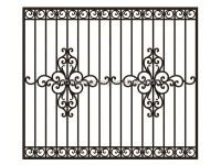 2016 Latest Wrought Iron Steel Windows Designs/cast Steel