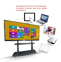 Touch Screen Oem Smart Tv For Advertisement 50 Inch ...