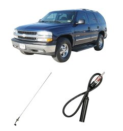 get quotations chevy tahoe 2003 2006 factory oem replacement radio stereo custom antenna [ 1000 x 1000 Pixel ]