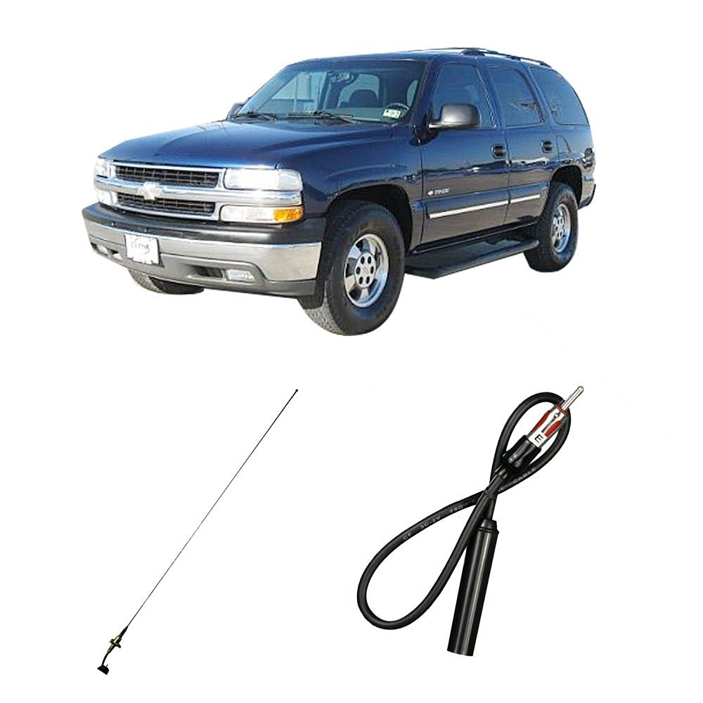 hight resolution of get quotations chevy tahoe 2003 2006 factory oem replacement radio stereo custom antenna
